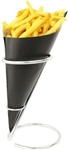 Contemporary Table Top Cone Holder, Stainless Steel - Fits our paper cones size K17,  K-18, K-20, K-21, K-23